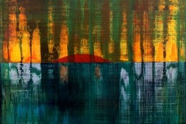 bild gemälde malerei abstract painting art storm