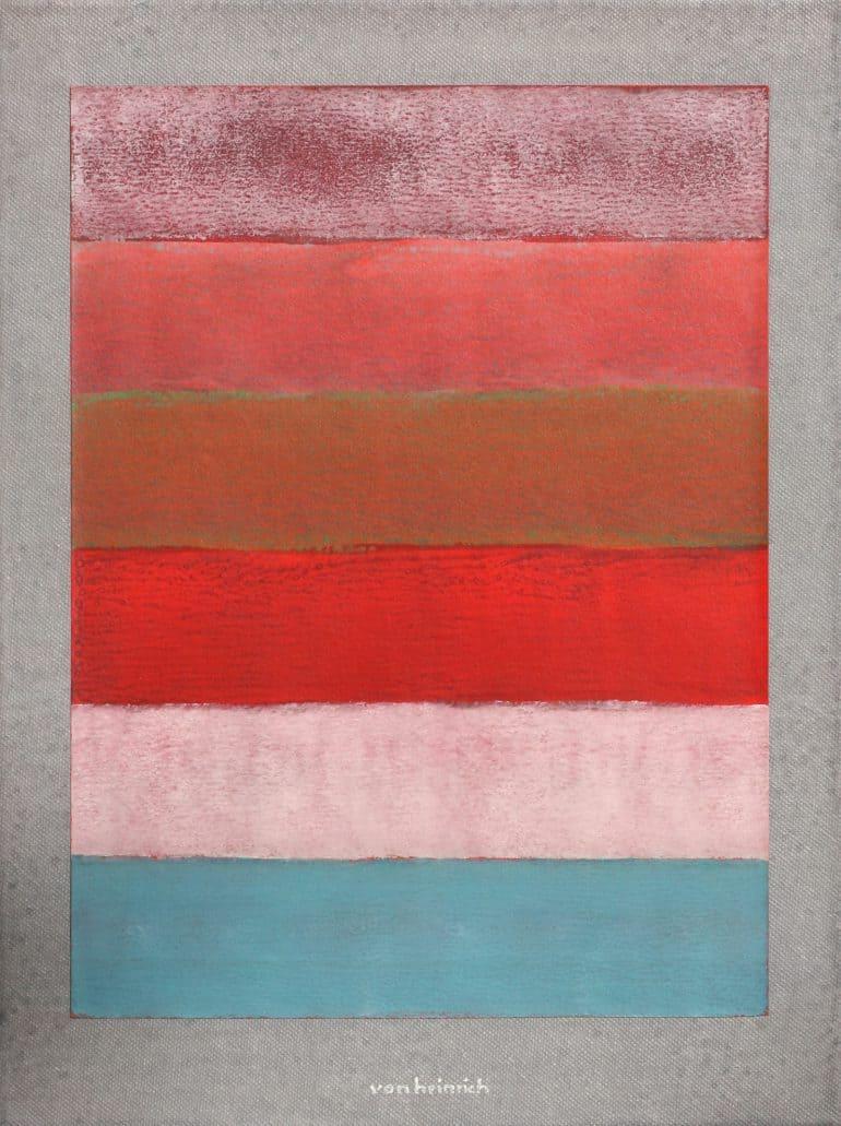 von heinrich abstraktes bild abstract painting zwilling 2